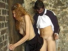 girls tied up and violated by old men