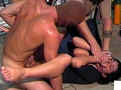 forced hand job video
