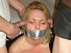 bound naked girls violated tube