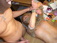 forced white wife gangbang