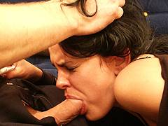 forced milking into mouth