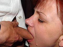 beautiful milf forced blowjob