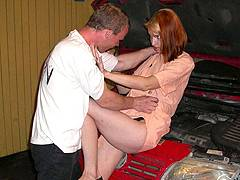 escort forced oral
