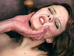 beautiful girl getting violated