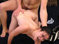 big strap on dildo forced bi