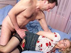 granny forced to fuck slutload