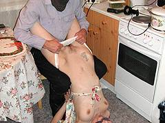forced to strip humiliated