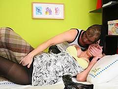 milf forced to fuck in legwarmers