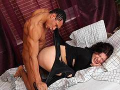 forced to fuck my girlfriend mom